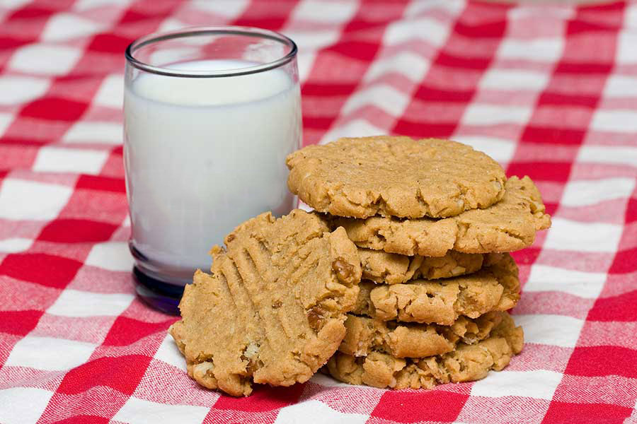 Melt in your mouth small batch Peanut Butter cookies recipe