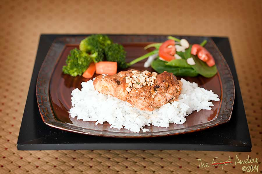 Thai Peanut Butter Chicken